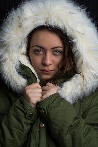 Teplé dámske zimné bundy
